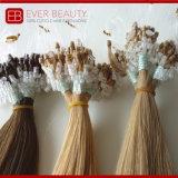 Estensioni dei capelli del ciclo con i capelli umani brasiliani di Remy