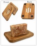목욕탕을%s 도매 자연적인 대나무 비누 받침