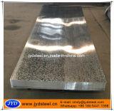 Lamiera di acciaio rivestita dello zinco con il lustrino normale
