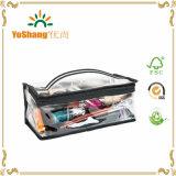 2016 Easy Carrying Professional Clear PVC imperméable à l'eau sac cosmétiques cosmétiques