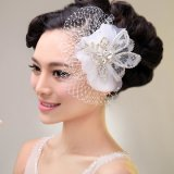 2014 Новый стиль свадебного 2607-458 устраивающих белые волосы аксессуары