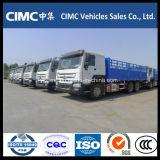 모잠비크를 위한 Sinotruk HOWO 6*4 336HP 화물 트럭