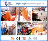 Установите противоскользящие ПВХ пластика коврик производственной линии / Профиль / Производственные машины