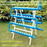 최신 판매 PVC 관 - PVC 직사각형 Hydroponic 관