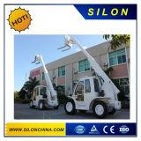 Silon 7m teleskopischer Zufuhr-Gabelstapler Telehandler (HNT40-4)