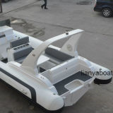 Liya 7,5 millions de bateaux de luxe de vitesse rapide de la nervure Bateau à moteur