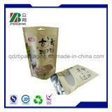 Emballage alimentaire Sacs en papier Brown Kraft avec fenêtre