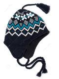 Cappello acrilico del pattino del Toque del jacquard