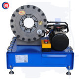 熱い販売の油圧ホースのひだが付く機械12V 24V中国製