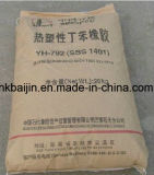 SBS Gummi ---Styrol-Butadien-Styrol-Gummikörnchen