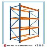 La palette en acier lourde bleue de poudre de la Chine Nanjing et orange enduite étire le système
