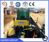 Machine à cintrer de rouleau hydraulique de W11S