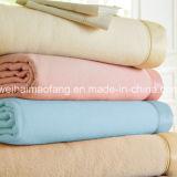 Manta tejida de hotel de lana