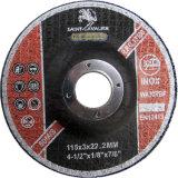 4.5 '' Wheels corte plana para Metal 115X3.0X22.2