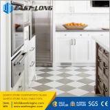 フロアーリングまたは壁または台所デザインのための磨かれた白くか黒くまたは黄色または灰色の水晶石のタイル