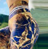 Absorção de umidade impresso calças de ioga Sports Calça Fitness Sexy quadris Perneiras feminino para Mulheres Academia