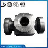 Oem Custom Fabrication services larva Stainless Steel Precision Casting pump parts Casting with CNC Machining