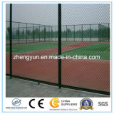 Home Sport Stadium PVC Coated Chain Link Fence / Security Fence