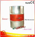 Calefator 220V 60c 790*170*1.5mm do cilindro da borracha de silicone