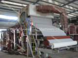2 Tpd Single Dryer Single Cylinder Máquina de papel higiênico
