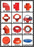 FM/UL утверждения фланец с канавками Pn 16 для пожарных-1nuo торговой марки