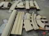 Weißer/beige/gelber Sandstein, der für Bauvorhaben formt
