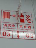 La tarjeta flexible de la espuma del PVC de la tarjeta de la espuma del PVC hizo espuma tarjeta del PVC