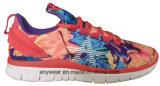 La gymnastique de femmes de chaussures de dames folâtre les chaussures de marche de confort (516-5888)