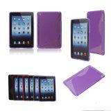 Teléfono celular caso S-Line de TPU para iPad Mini (TPU0006)