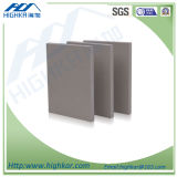 2016 Folha plana de cimento de fibra de celulose para sistema de parede de divisão