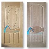 Material de la construcción de viviendas de la fortuna de la forma de la fabricación del diseño de la piel de la puerta