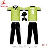 Healongのスポーツ・ウェアのカスタムコオロギのジャージー装置の衣類