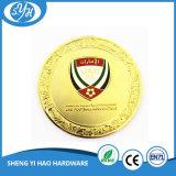 Moneta genuina del ricordo di doratura elettrolitica di alta qualità 3D