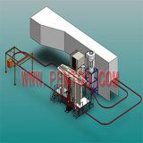 Chaîne de production automatique d'enduit de poudre pour la bonne pulvérisation