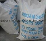De Productie van het Chloride van het Ammonium van de Korrel van 99.5% van China