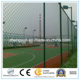 Home Sport Stadium PVC Coated Chain Link Clôture / Clôture de sécurité