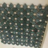 In het groot Marmeren Mozaïek, de Donkergroene Tegel van het Mozaïek voor Decoratie