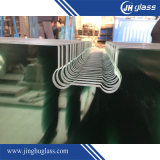 Ясный экран ливня матированного стекла, дверь стекла ливня