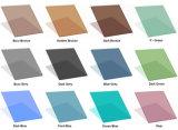 Plat/a courbé clairement, glace de flotteur r3fléchissante ultra claire, en bronze, bleue, grise, teintée