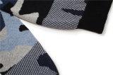 casaco de lã de 100%Cotton V Neck Knitting Men com Button