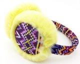 Earmuff шерсти Fuax типа способа цветастый корейский