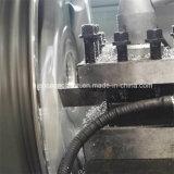 ダイヤモンドの切口の合金の車輪修理CNCの旋盤機械Awr28h