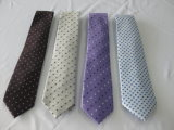100% de gravatas Jacquard