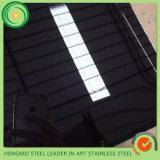 201 304 장식적인 벽 Panneling를 위해 강철 티타늄 PVD에 의하여 착색되는 금속