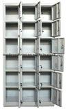 Do metal forte de 18 portas do baixo preço cacifo de aço do armazenamento