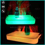 LED 포도주 내각 색깔 변화 바 층계 포도주 전시