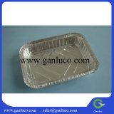 Folha de alumínio descartáveis Bandeja de alimentar o recipiente do rolo da placa