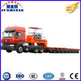 150ton 7 linhas 14Semitrailer Modular hidráulico do eixo com pescoço de cisne
