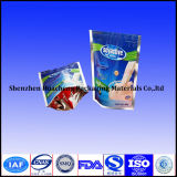 Reißverschluss-Verschluss-Plastiktasche schieben