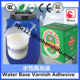 コーティングのペーパーのための水の基づいたニスの接着剤